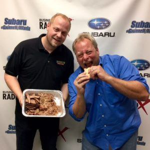 Shannon Skains with Dickey's Barbecue Pit