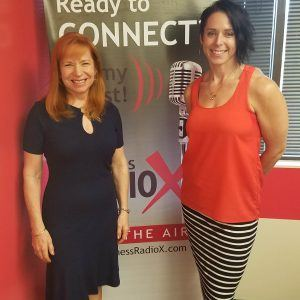 Stacie Mallen with CampusLogic and Special Co-Host Kathleen Gramzay with Kinessage