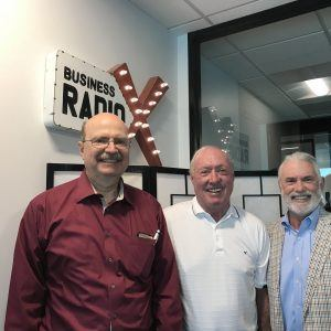 Michael Anderson with Metal Supermarkets, Stan Everett with Salas O'Brien, Guy Powell with ProRelevant Marketing Solutions – Atlanta
