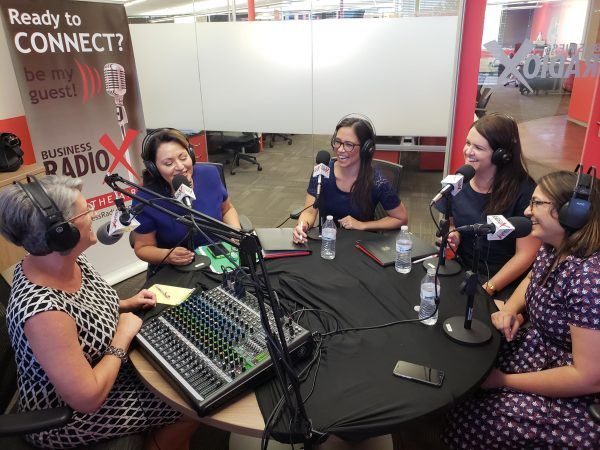 Anjali-Patel-and-Kellie-Callahan-and-Alexis-Firehawk-on-business-radioX
