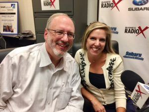 Charles Pace & Shelly Schwerzler with the Gwinnett County Public Library