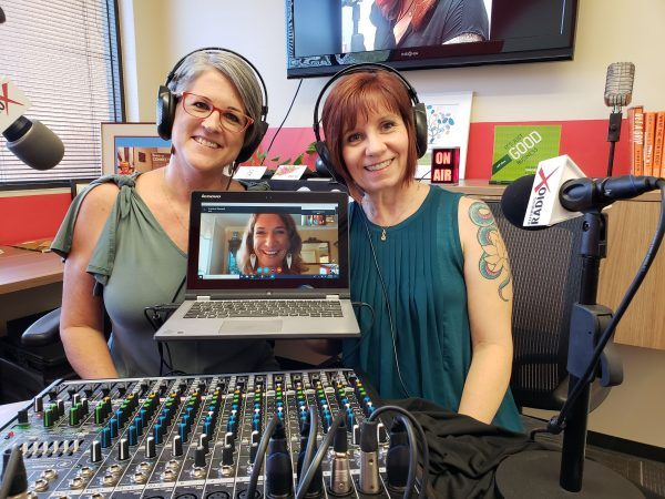 Corrina-Steward-and-Michelle-Lee-with-Soul-Wealth-Coach-on-Business-RadioX-with-Karen-Nowicki