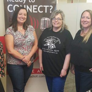3C AMPLIFIED Theresa DiNatale-Lyon and Claudia Castaneda with Enchanted Island Amusement Park and Laura Pahules with Arizonans for Children