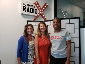 Joan Guillory and Jennifer Cooper with GSquared Group