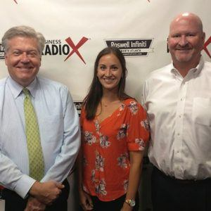 Tom Briggette with Pioneer Capital Group and Kyli Owen with 27th and Leo