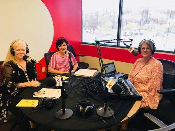 Sharon-Lechter-and-Kathleen-Duffy-with-2020-Women-on-Boards-Initiative-with-Karen-Nowicki-on-business-RadioX