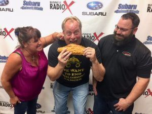 Suzanne Cartwright & Brandon Failla with Friends American Grill