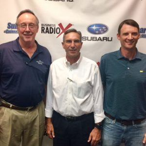 SIMON SAYS, LET'S TALK BUSINESS: Gregg Mooney with Leadership Max and Cory Potalivo with Custom Sign Factory