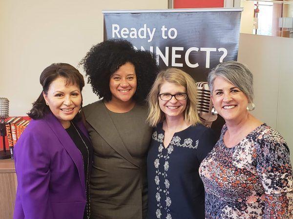 LADIES LEADERSHIP CIRCLE Community Advocate Latasha Causey and US Foods Inc with Region Legal Counsel Jenny Holsman Tetreault