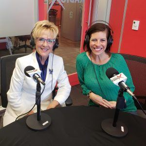 Phoenix ER and Medical Hospital COO Gwen Fulop with our Guest Co-host from Passion for Patients Founder Gina Ore