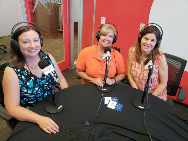 Jacqueline-Destremps-with-Sophia-Campbell-and-Theresa-Mckenzie-of-TCAA-on-Business-RadioX1