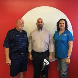 E12 Eric Wright Founder Vets2PM and Vet Stone and John Baley President and Nicole Langston VP Marketing from PMI Phoenix