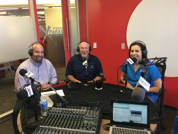 John-Baley-and-Nicole-Langston-and-Eric-Wright-with-PMO-Joe-on-Business-RadioX2
