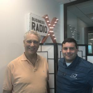 Paul Cervino with Nations Lending and Robert Evans Wilson, Jr. with Jump Start Your Meeting!