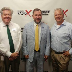 Wendell Strickland with Strongside Solutions and John Herbert with the Roswell Attorney Project
