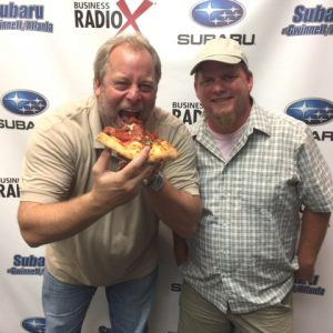 Stephen Burge with Johnny's Pizza – Lawrenceville