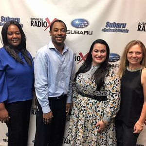 Natasha Lisin with Smile Creations Dental, Ashley Lail with Benco Dental, and Vonya & Kareem Hodrick with WellSource Integrative Health Solutions