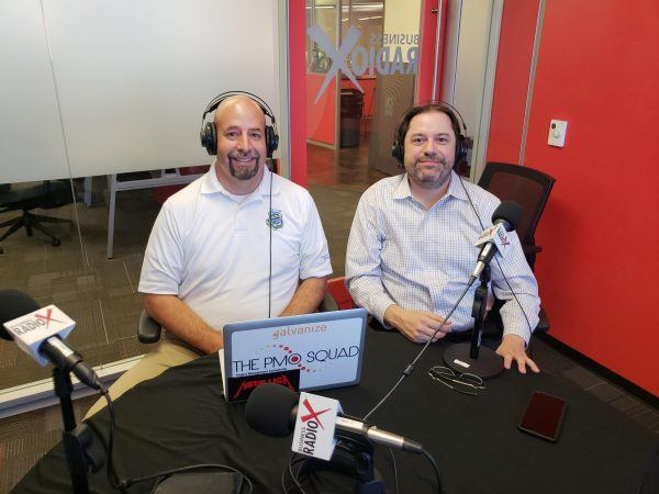 Joe-Pusz-and-Dimitri-Ponomareff-with-KanbanZone-on-Phoenix-Business-RadioX