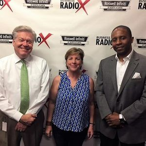 Cathy Reinking with Your It Factor and Oliver Yarbrough with BOBCAT Academy
