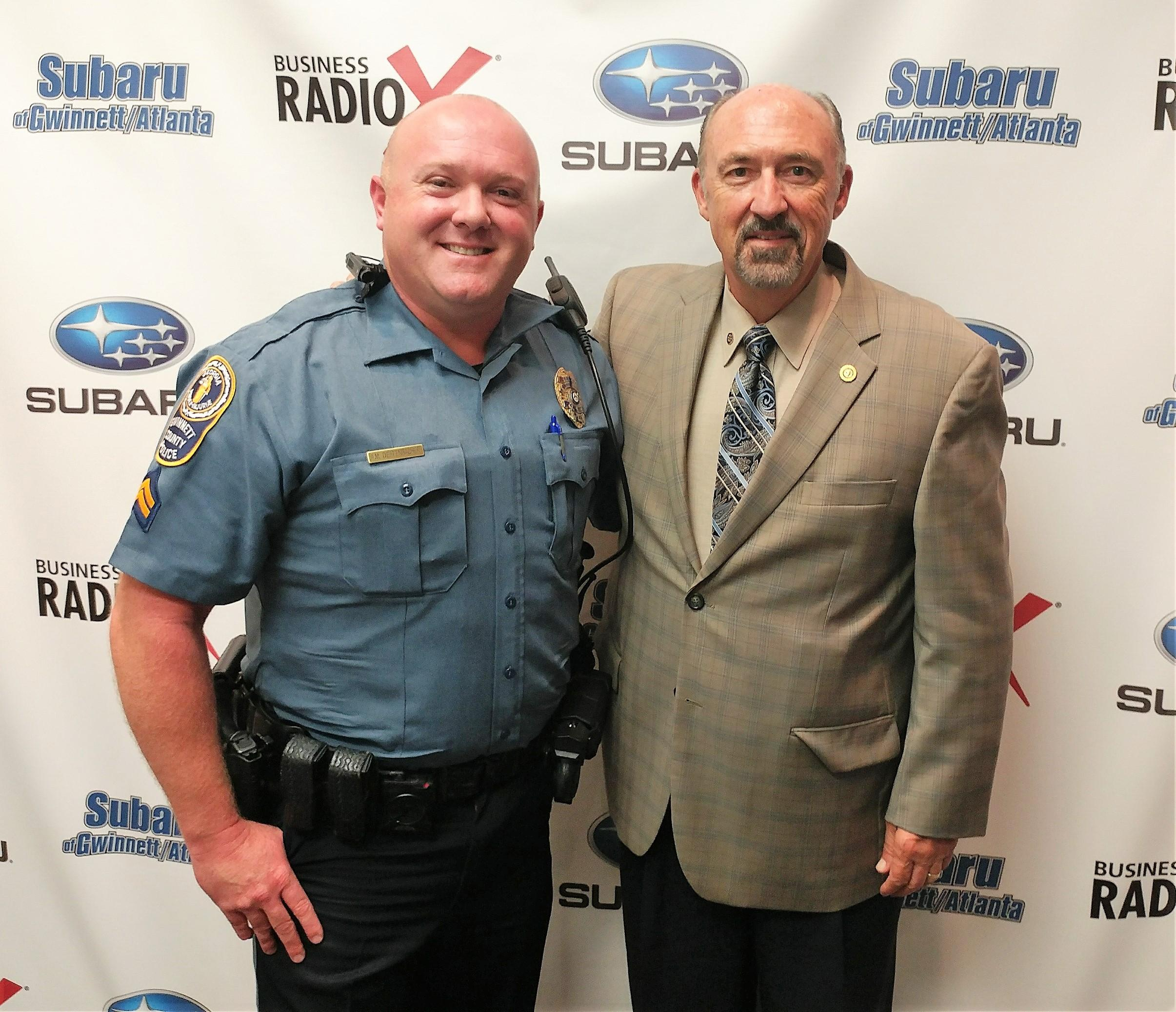 Aaren Dieffenbacher with the Gwinnett County Police