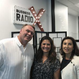 Mike Manos & Penny Collins with First Data and Anisa Telwar Kaicker with Anisa International