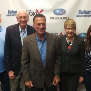 Bob & Lyn Turknett and Tino Mantella with Turknett Leadership Group
