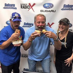 Lori & Jim Casal with Lucky Dog Chicago Eatery