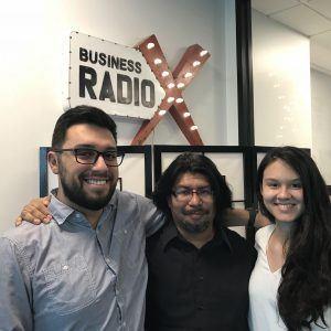 Ignacio Arreola-Vidal and Gabriella Garcia with ATL Cinemaniacs