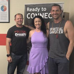 CULTURE CRUSH RX Tribal CrossFit Owner Jeremey Leib and One Tribe Yoga and Wellness Owner Jason Zelich