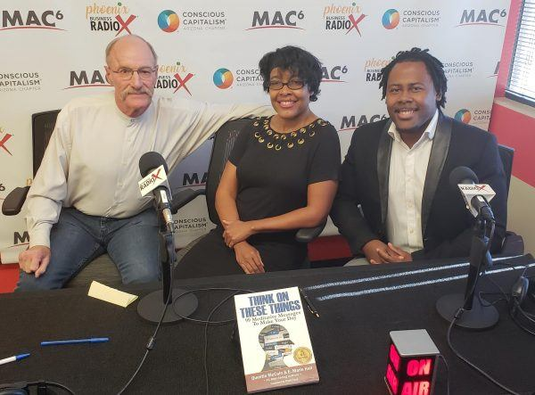 Co-Authors-and-Speaker-E-Marie-Hall-and-Quentin-McCain-with-Wyatt-Earp-of-On-The-Spot-Productions