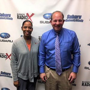 Dr. Alan Miller with Dunwoody Internal Medicine and Dr. Angela Wright with Peach Blossom Dental