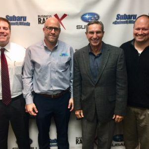 SIMON SAYS, LET'S TALK BUSINESS: Patrick Sutton of Milner, Inc.; Rob Otersen of SPATCO Energy Solutions; and Todd McCarty of WSI Marketing Upside