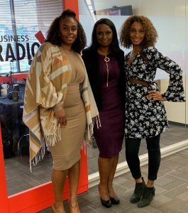 JOURNEY RADIO Kellie Kongnso with Lash Factor Studio and Michelle Crawford with Cold Beauty