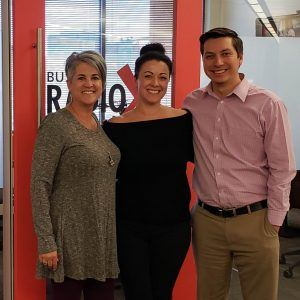 Thomas Barr Executive Director with Local First AZ and Karen Nowicki CEO with Phoenix Business RadioX