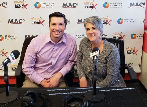 Thomas-Barr-Executive-Director-with-Local-First-AZ-and-Karen-Nowicki-CEO-with-Phoenix-Business-RadioX2