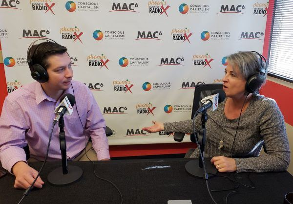 Thomas-Barr-Executive-Director-with-Local-First-AZ-and-Karen-Nowicki-CEO-with-Phoenix-Business-RadioX3