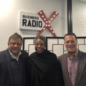 Tino Mantella and Marty Gupta with Turknett Leadership Group