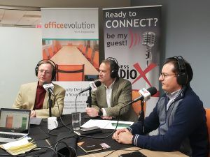 Albert Assad with Atlantic Consulting Solutions, Hank Corriher with Tandem Innovative Payment Solutions and Jeff Bernier with TandemGrowth Financial Advisors, LLC