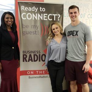 JOURNEY RADIO Sol and Skin Laser Lindsay Sorr with Opex North Scottsdale Strength Coach Daniel Jones