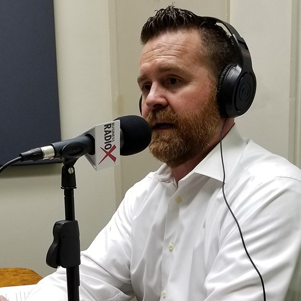 Trevor Wilde with Wilde Wealth Management in the studio at Valley Business RadioX in Phoenix, AZ