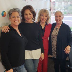 Her Certified with Cathy Droz and Superstition Springs Lexus with Denise Erickson and Publicist Lauren Rosenberg
