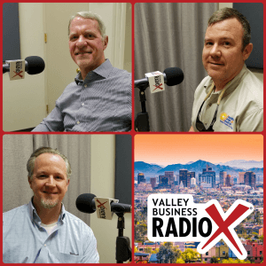 Joe Cunningham with Sunny Energy, Corey Garrison with SouthFace Solar & Electric, and Scott Hufford with Chasse Building Team
