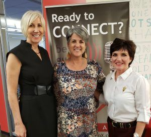 Sun Devil 100 with Duffy Group CEO Kathleen Duffy and Trish Gulbranson with Derma Health