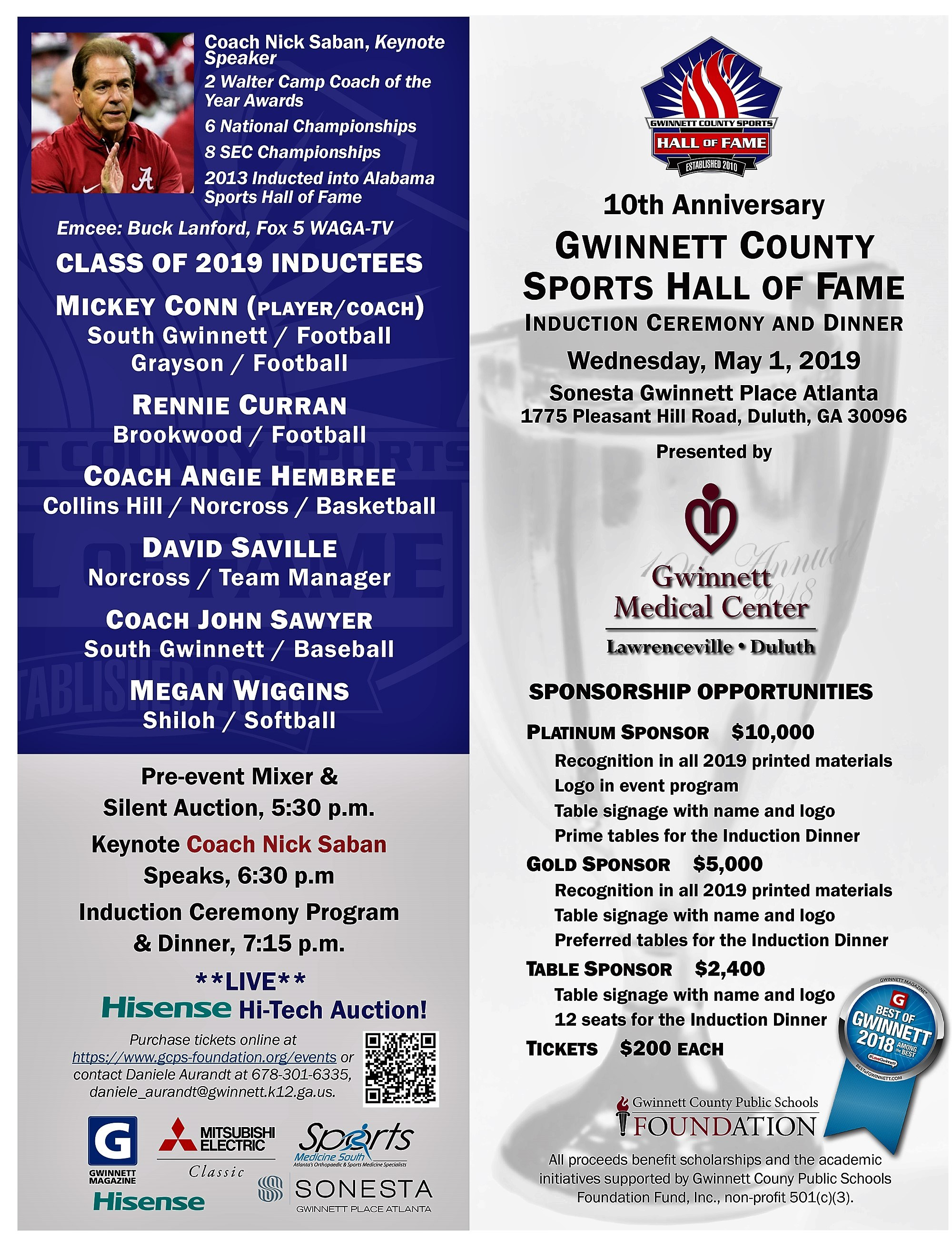 Gwinnett County Sports Hall of Fame: Former UGA and NFL