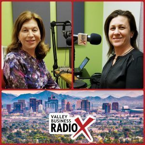 Julee Landau Shahon and Rachel Hoffer with Violins of Hope on Valley Business RadioX in Phoenix, AZ