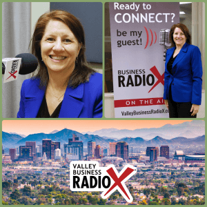 Lisa Riley with LINK Business on Valley Business RadioX in Phoenix, Arizona
