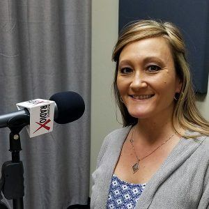 Lynda Riford with Southwest Behavioral & Health Services in the studio at Valley Business RadioX in Phoenix, AZ