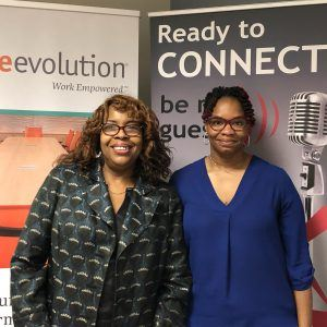 Office Evolution Radio: Tiffany Francis with Corner Bakery Cafe and Bonita White with Bonita White and Associates