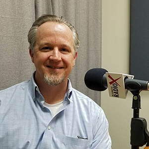 Scott Hufford with Chasse Building Team in the studio at Valley Business RadioX in Phoenix, AZ