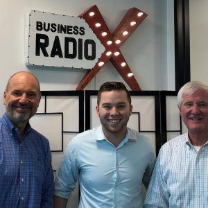 Scott Fletcher with LocatorX, Tommy Estes with Estes Services and Adam Araujo with Lead Web App